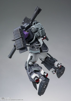 GUNDAM FIX FIGURATION METAL COMPOSITE MS-06R-1A 高機動型ザクⅡ 07