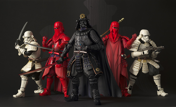 Star Wars x Samurai Figures!