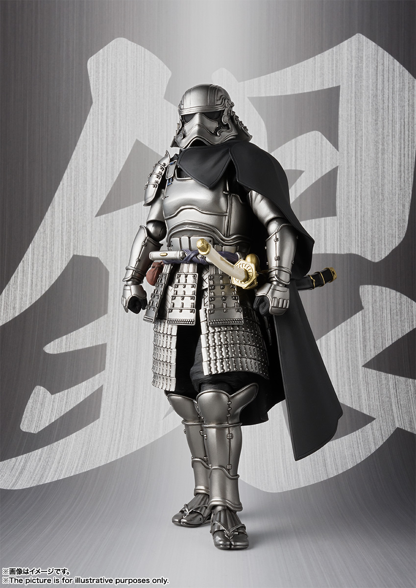 STAR WARS Movie Realization - ASHIGARU DAISHO CAPTAIN PHASMA Sw_mr_item02_img01