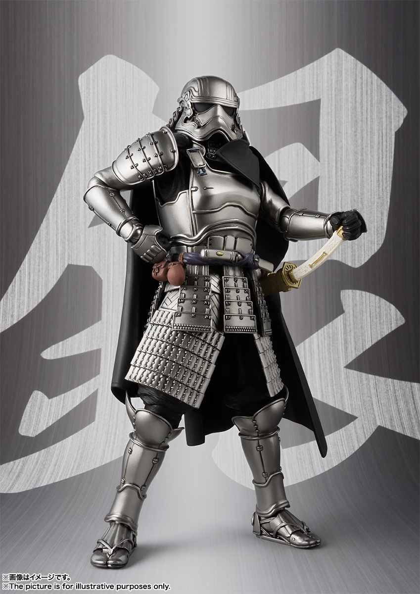 STAR WARS Movie Realization - ASHIGARU DAISHO CAPTAIN PHASMA Sw_mr_item02_img03
