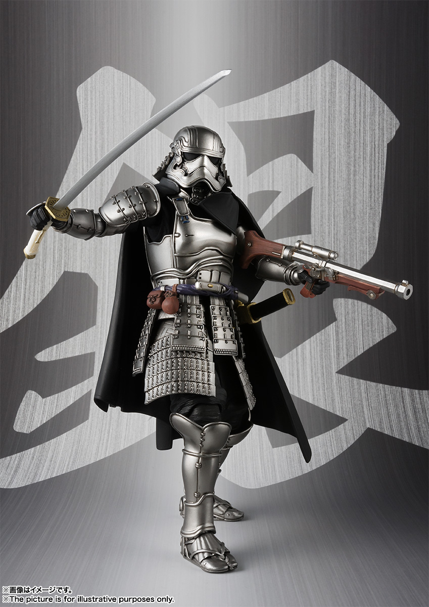 STAR WARS Movie Realization - ASHIGARU DAISHO CAPTAIN PHASMA Sw_mr_item02_img05