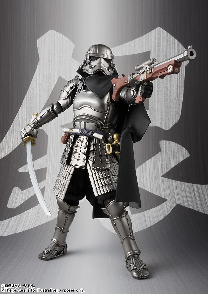 STAR WARS Movie Realization - ASHIGARU DAISHO CAPTAIN PHASMA Sw_mr_item02_img06