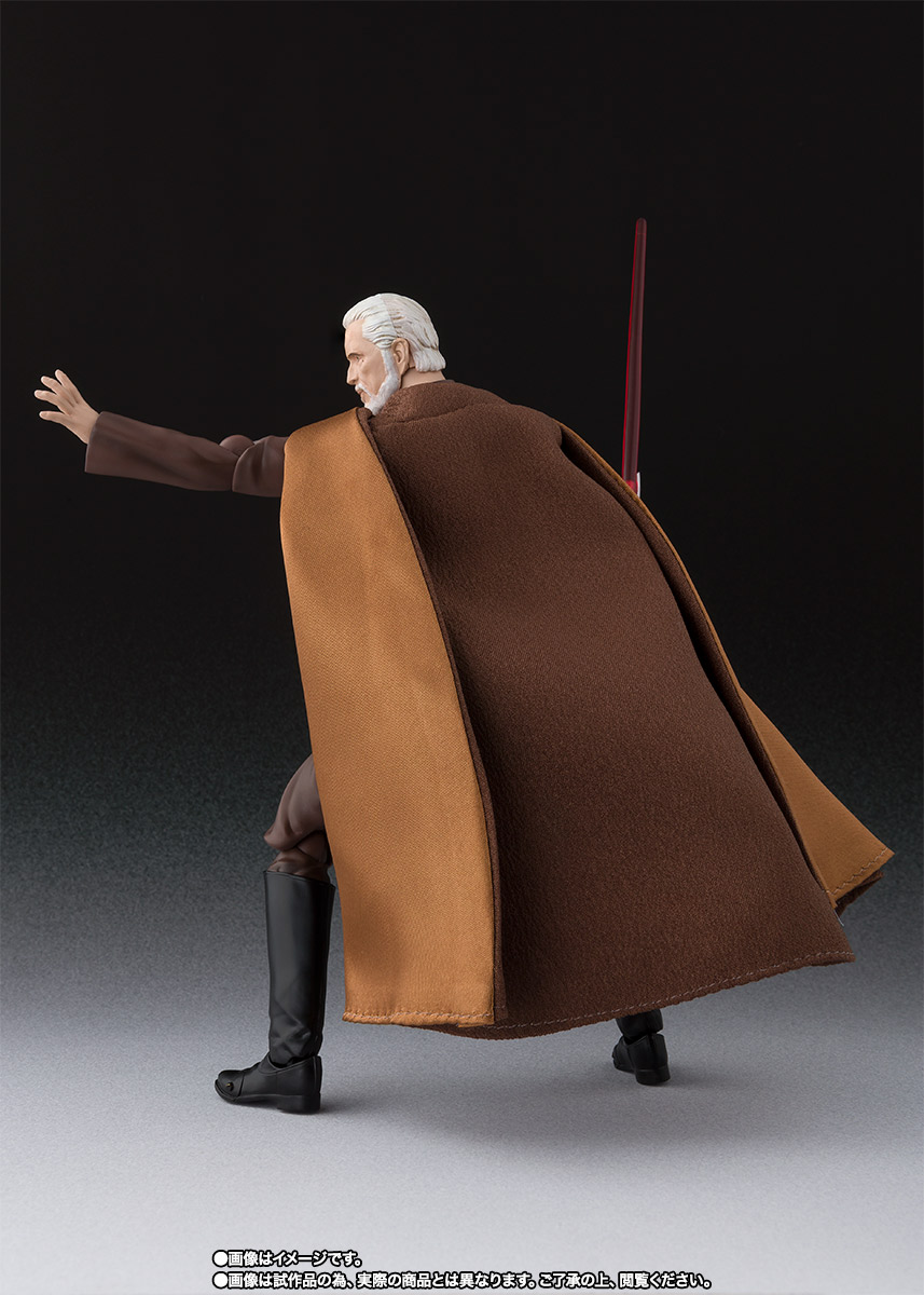 STAR WARS S.H.Figuarts - COUNT DOOKU - EpIII: ROTS Sw_shf_item04