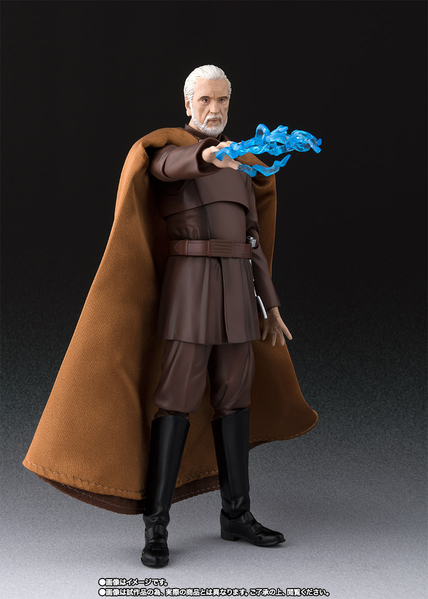 STAR WARS S.H.Figuarts - COUNT DOOKU - EpIII: ROTS Sw_shf_item05