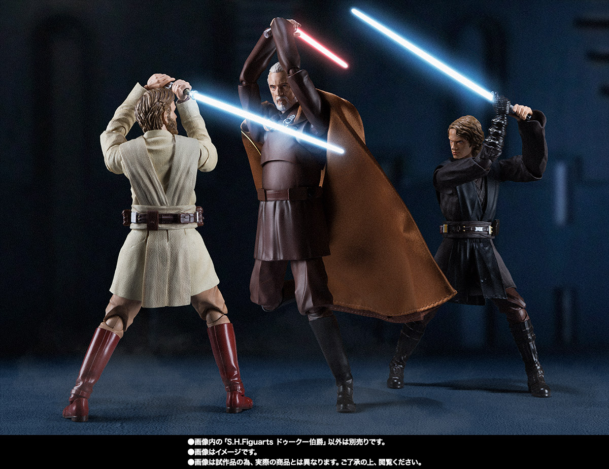 STAR WARS S.H.Figuarts - COUNT DOOKU - EpIII: ROTS Sw_shf_item07